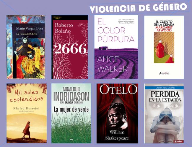 violencia de genero libros