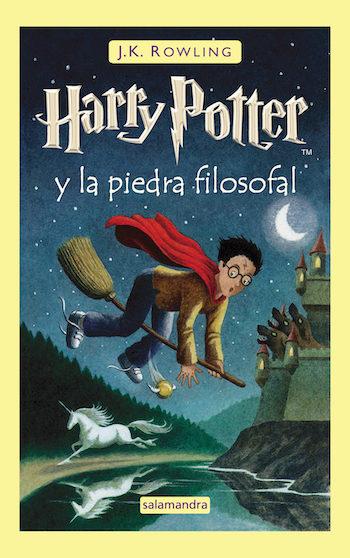 mejores lecturas harry potter y la piedra filosofal portada
