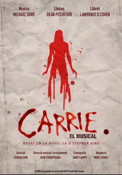 carrie cartel musical 2018