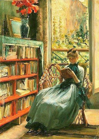 mujer lectora