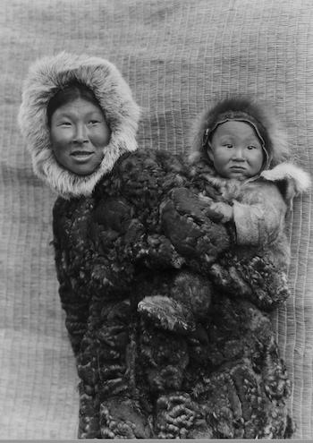de piedra y hueso pueblo inuit